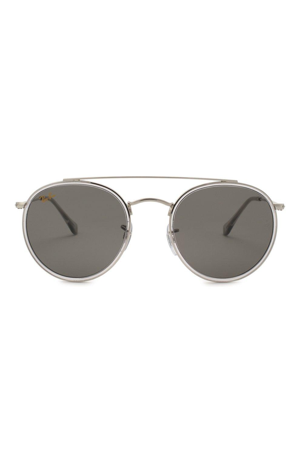 Женские солнцезащитные очки RAY-BAN серого цвета, арт. 3647N-9211B1 | Фото 4