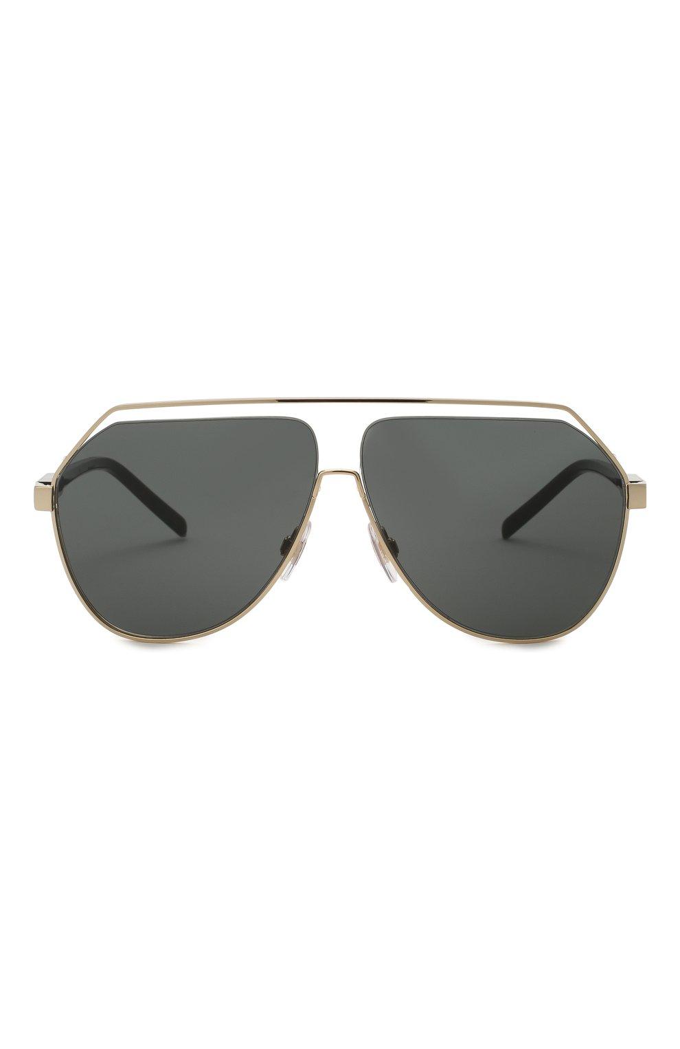 Мужские солнцезащитные очки DOLCE & GABBANA черного цвета, арт. 2266-02/87 | Фото 3