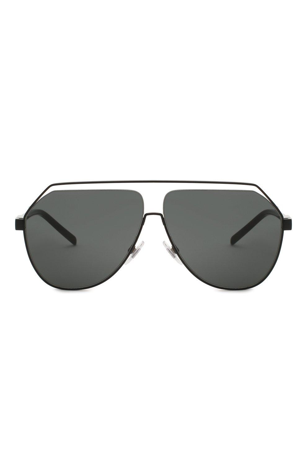 Мужские солнцезащитные очки DOLCE & GABBANA черного цвета, арт. 2266-110687 | Фото 3