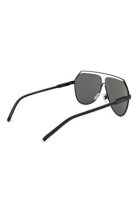 Мужские солнцезащитные очки DOLCE & GABBANA черного цвета, арт. 2266-110687 | Фото 4