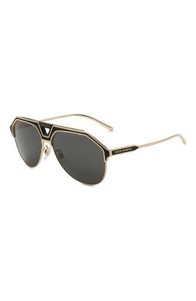 Мужские солнцезащитные очки DOLCE & GABBANA черного цвета, арт. 2257-133487 | Фото 1