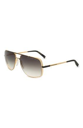 Мужские солнцезащитные очки DITA золотого цвета, арт. MIDNIGHT SPECIAL/DRX-2010-M | Фото 1