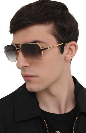 Мужские солнцезащитные очки DITA золотого цвета, арт. MIDNIGHT SPECIAL/DRX-2010-M | Фото 2