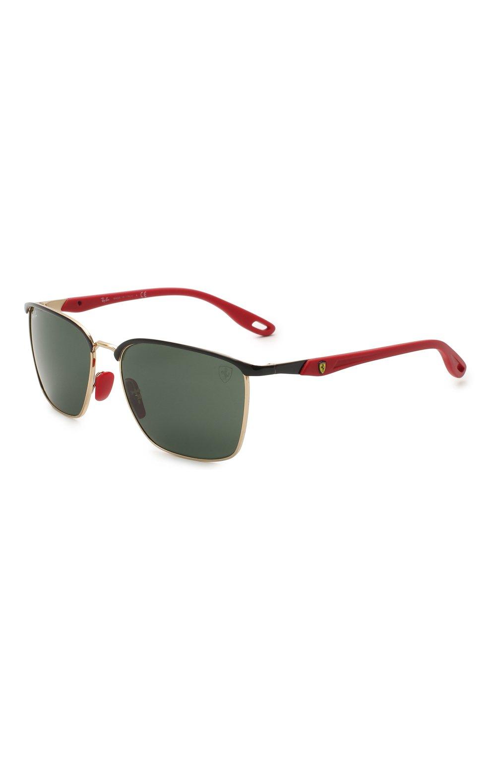 Мужские солнцезащитные очки RAY-BAN черного цвета, арт. 3673M-F06171 | Фото 1
