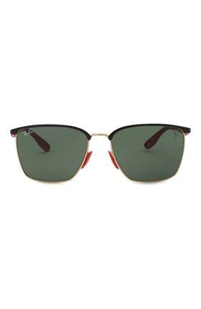 Мужские солнцезащитные очки RAY-BAN черного цвета, арт. 3673M-F06171 | Фото 3