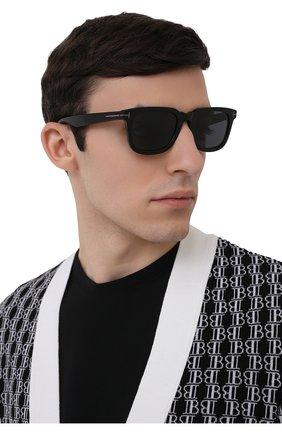 Мужские солнцезащитные очки TOM FORD черного цвета, арт. TF817-N 01A 53 | Фото 2