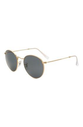 Женские солнцезащитные очки RAY-BAN золотого цвета, арт. 3447-9196R5   Фото 1
