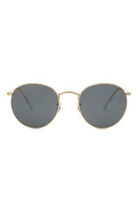Женские солнцезащитные очки RAY-BAN золотого цвета, арт. 3447-9196R5   Фото 4