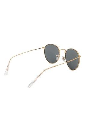 Женские солнцезащитные очки RAY-BAN золотого цвета, арт. 3447-9196R5   Фото 5