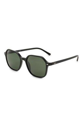 Женские солнцезащитные очки RAY-BAN черного цвета, арт. 2194-901/31 | Фото 1