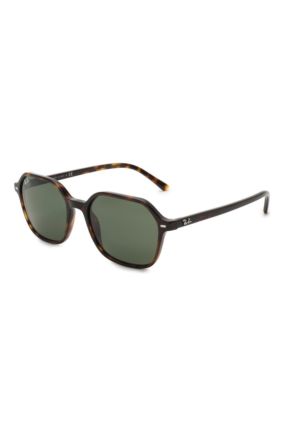 Женские солнцезащитные очки RAY-BAN коричневого цвета, арт. 2194-902/31 | Фото 1