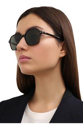 Женские солнцезащитные очки RAY-BAN коричневого цвета, арт. 2194-902/31 | Фото 2