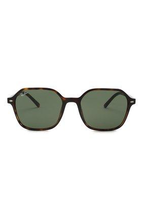 Женские солнцезащитные очки RAY-BAN коричневого цвета, арт. 2194-902/31 | Фото 4