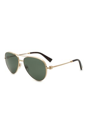Женские солнцезащитные очки VALENTINO золотого цвета, арт. 2034-300271 | Фото 1