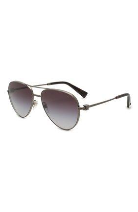Женские солнцезащитные очки VALENTINO серого цвета, арт. 2034-30398G | Фото 1