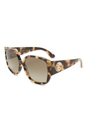 Женские солнцезащитные очки BURBERRY коричневого цвета, арт. 4290-327813 | Фото 1