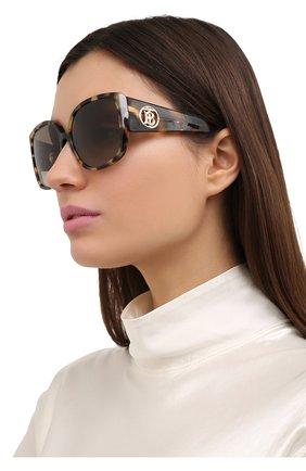 Женские солнцезащитные очки BURBERRY коричневого цвета, арт. 4290-327813 | Фото 2