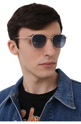 Женские солнцезащитные очки THE ROW X OLIVER PEOPLES синего цвета, арт. 1230ST-5035Q8 | Фото 3 (Тип очков: С/з; Очки форма: Круглые; Оптика Гендер: оптика-унисекс)