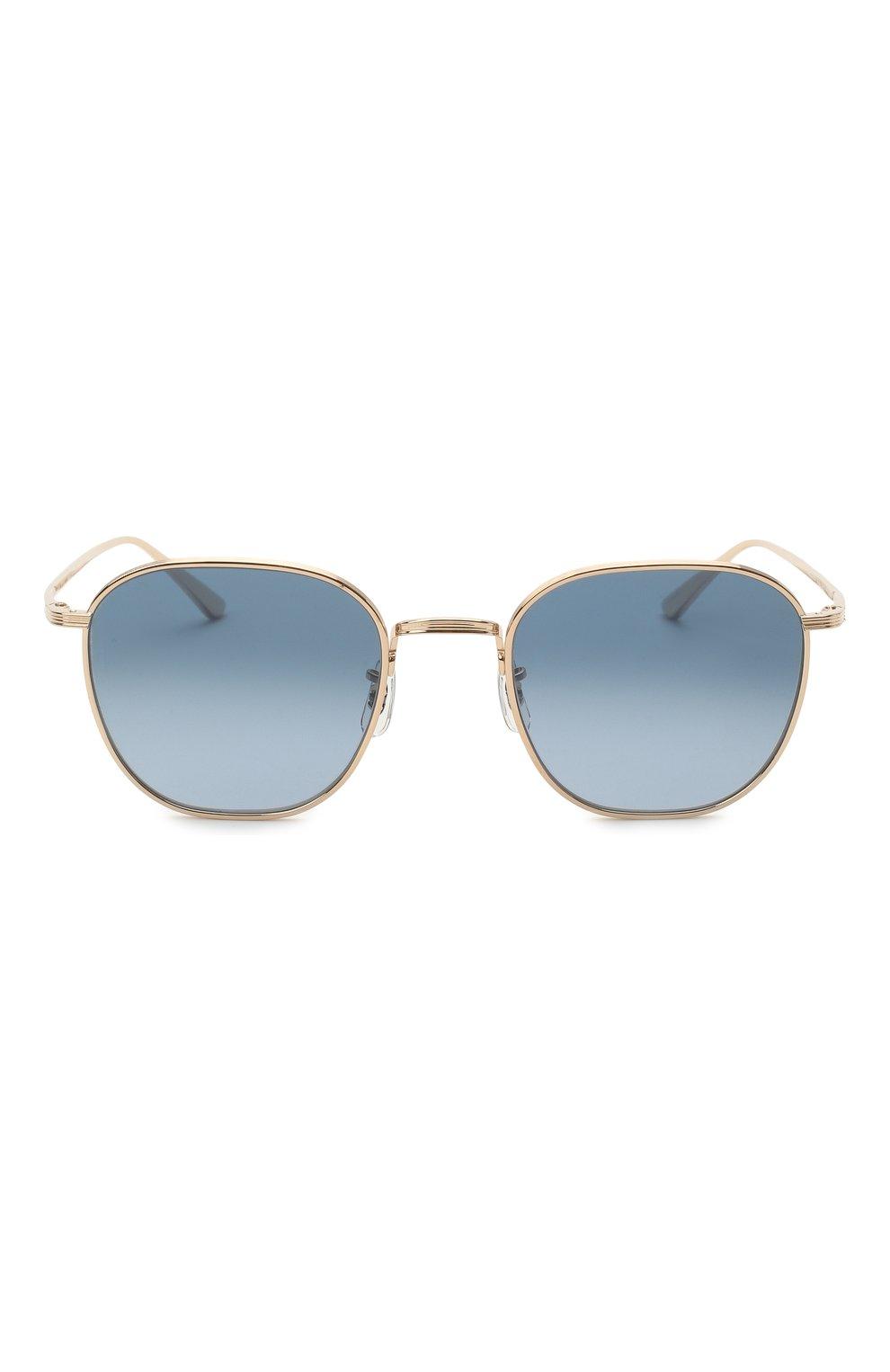 Женские солнцезащитные очки THE ROW X OLIVER PEOPLES синего цвета, арт. 1230ST-5035Q8 | Фото 4 (Тип очков: С/з; Очки форма: Круглые; Оптика Гендер: оптика-унисекс)