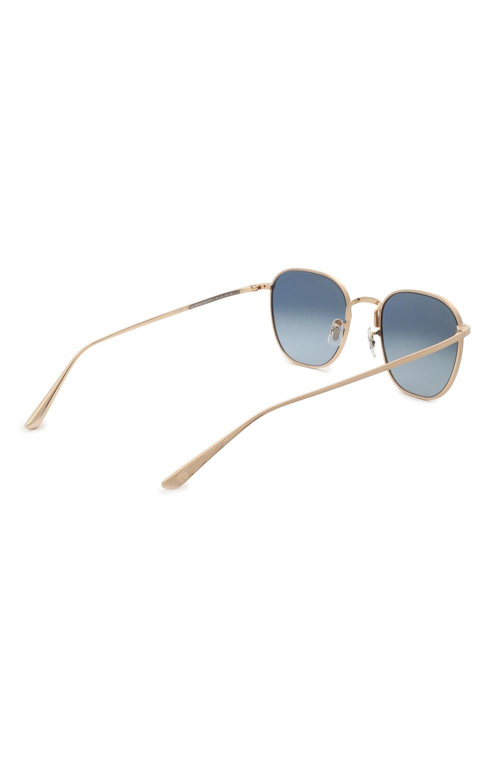 Женские солнцезащитные очки THE ROW X OLIVER PEOPLES синего цвета, арт. 1230ST-5035Q8 | Фото 5 (Тип очков: С/з; Очки форма: Круглые; Оптика Гендер: оптика-унисекс)