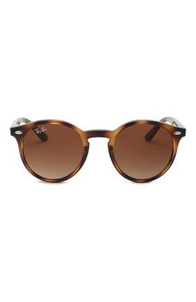 Детские солнцезащитные очки RAY-BAN коричневого цвета, арт. 9064S-152/13 | Фото 2