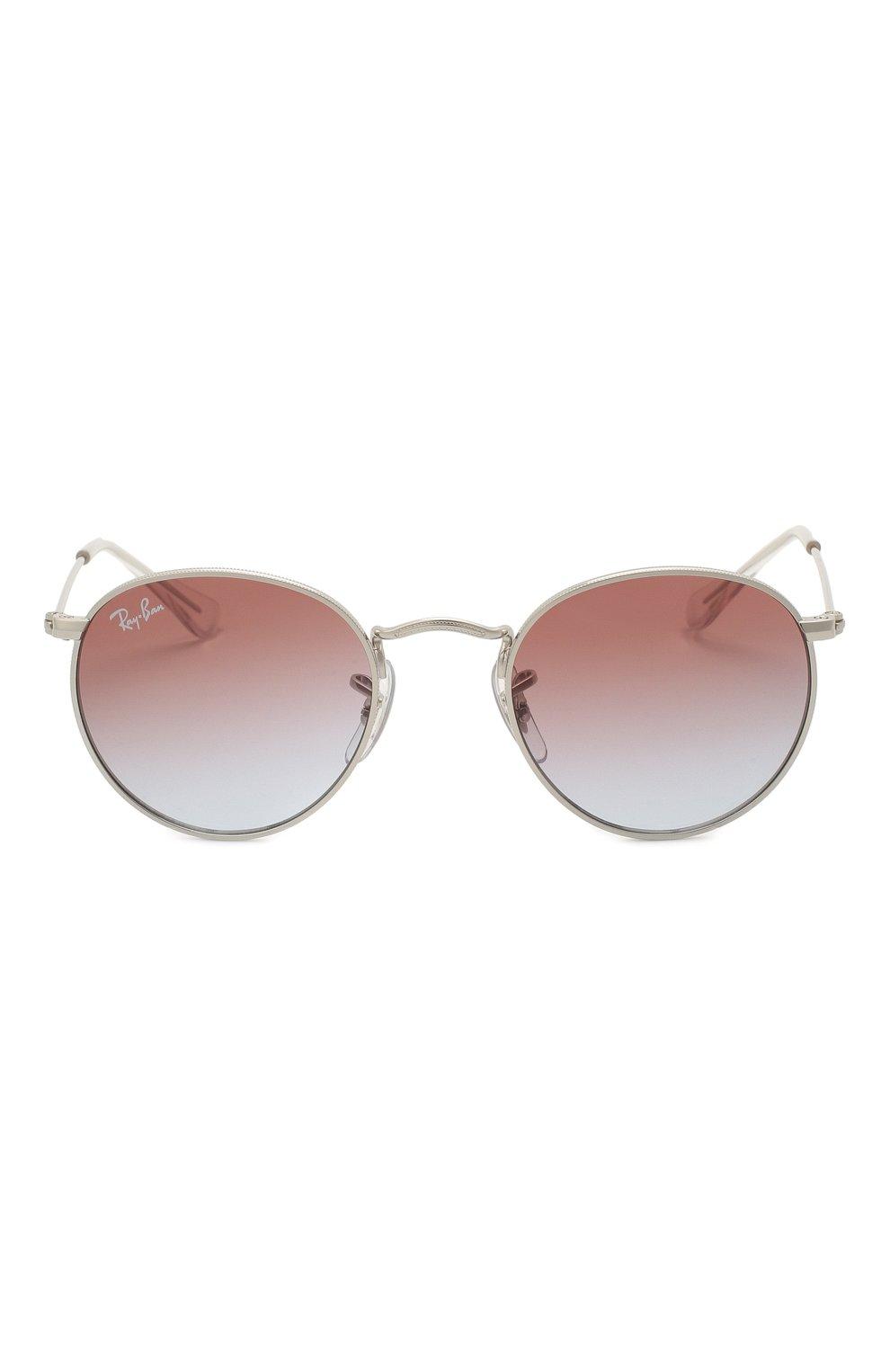 Детские солнцезащитные очки RAY-BAN серебряного цвета, арт. 9547S-212/I8   Фото 2