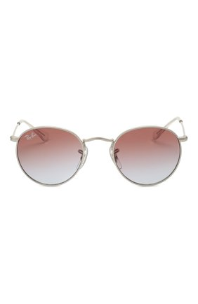 Детские солнцезащитные очки RAY-BAN серебряного цвета, арт. 9547S-212/I8 | Фото 2