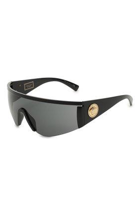 Женские солнцезащитные очки VERSACE черного цвета, арт. 2197-126187 | Фото 1