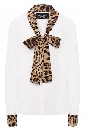 Блузка из вискозы и шелка   Фото №1