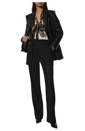 Блузка из вискозы и шелка   Фото №2