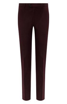 Мужские хлопковые брюки RALPH LAUREN бордового цвета, арт. 790802188 | Фото 1 (Материал внешний: Хлопок; Стили: Кэжуэл; Случай: Повседневный; Длина (брюки, джинсы): Стандартные)