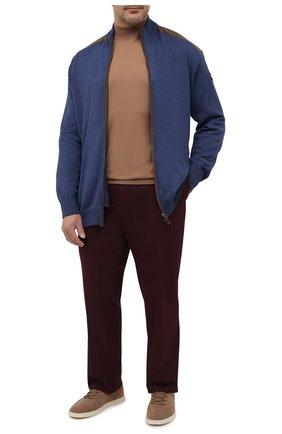 Мужские хлопковые брюки RALPH LAUREN бордового цвета, арт. 790802188 | Фото 2 (Материал внешний: Хлопок; Стили: Кэжуэл; Случай: Повседневный; Длина (брюки, джинсы): Стандартные)