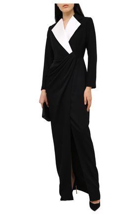 Женское платье RASARIO черного цвета, арт. 0077W20 | Фото 2