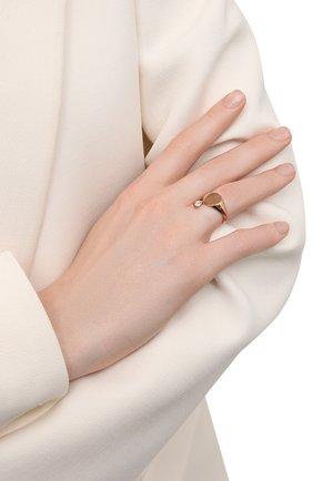 Женское кольцо MOONKA золотого цвета, арт. nc-sig-tpz-g   Фото 2 (Материал: Серебро)