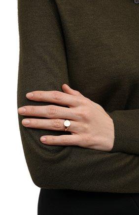 Женское кольцо-печатка MOONKA STUDIO золотого цвета, арт. nc-sig-g | Фото 2