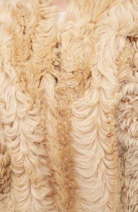 Женский меховой жилет ISABEL MARANT бежевого цвета, арт. MA0895-20H008I/ALLIE | Фото 5 (Женское Кросс-КТ: Мех, Жилет-одежда; Материал внешний: Натуральный мех; Длина (верхняя одежда): Короткие; Стили: Кэжуэл)