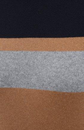 Женский шерстяная водолазка LORO PIANA бежевого цвета, арт. FAL4465/VVIC   Фото 5