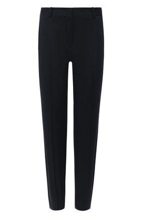 Женские хлопковые брюки LORO PIANA темно-синего цвета, арт. FAL0763   Фото 1