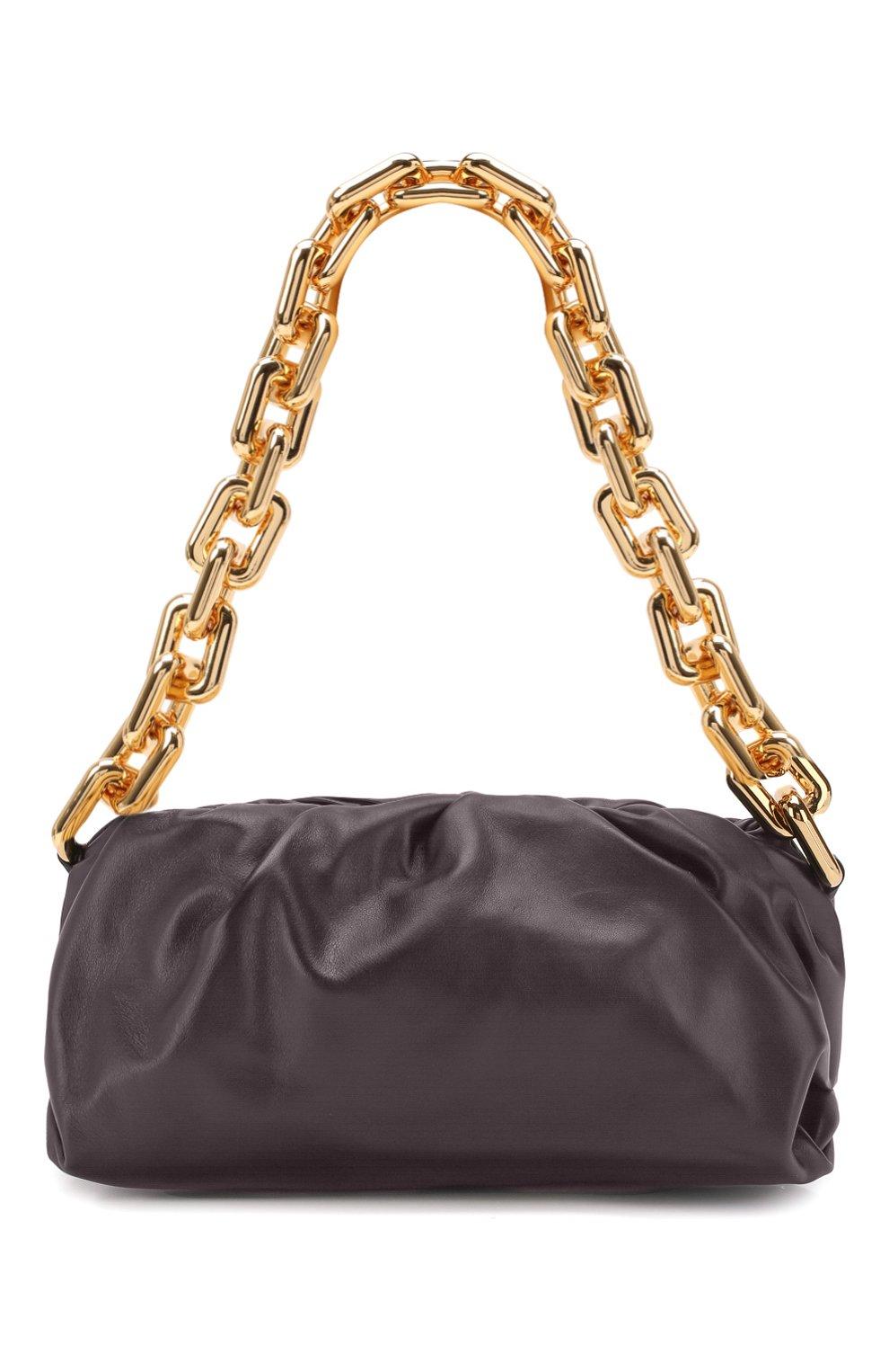 Женская сумка chain pouch BOTTEGA VENETA темно-фиолетового цвета, арт. 620230/VCP40 | Фото 1
