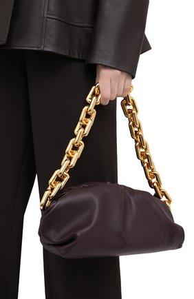Женская сумка chain pouch BOTTEGA VENETA темно-фиолетового цвета, арт. 620230/VCP40 | Фото 2
