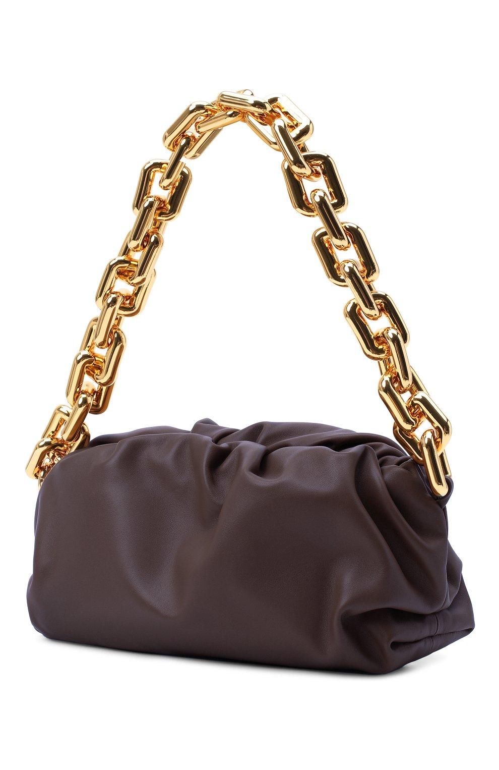 Женская сумка chain pouch BOTTEGA VENETA темно-фиолетового цвета, арт. 620230/VCP40 | Фото 3