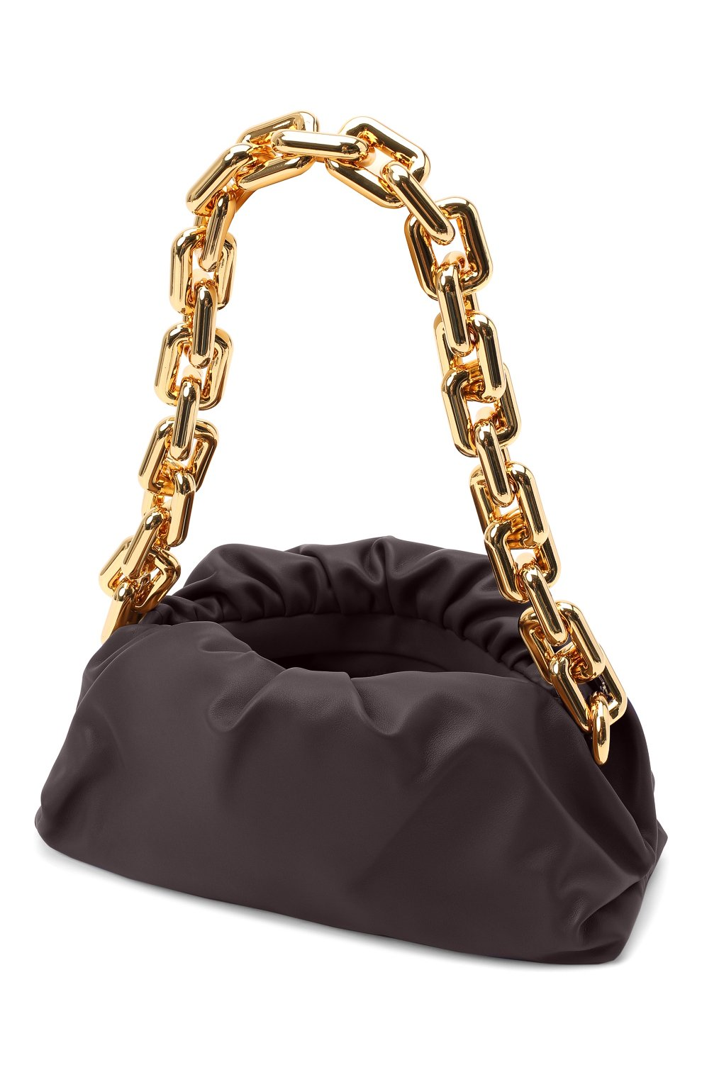 Женская сумка chain pouch BOTTEGA VENETA темно-фиолетового цвета, арт. 620230/VCP40 | Фото 4
