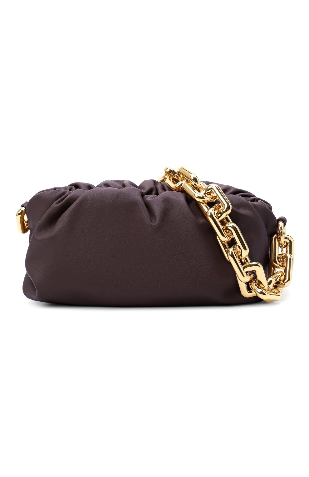 Женская сумка chain pouch BOTTEGA VENETA темно-фиолетового цвета, арт. 620230/VCP40 | Фото 5