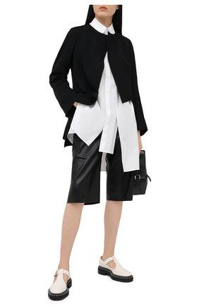 Женский шерстяной жакет COMME DES GARCONS черного цвета, арт. GF-J018-051 | Фото 2