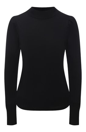 Женская лонгслив MONROW черного цвета, арт. HT0991 | Фото 1