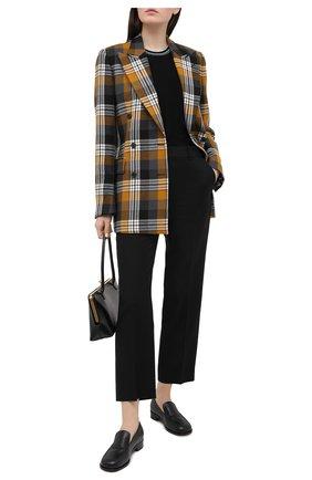 Женский кашемировый пуловер GIORGIO ARMANI черного цвета, арт. 3KAM20/AM85Z | Фото 2