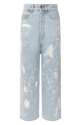 Женские джинсы GOLDEN GOOSE DELUXE BRAND голубого цвета, арт. GWP00107.P000416 | Фото 1