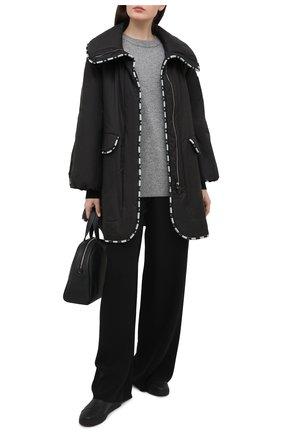 Женское пальто GIORGIO ARMANI черного цвета, арт. 1SH0C054/T02DE | Фото 2