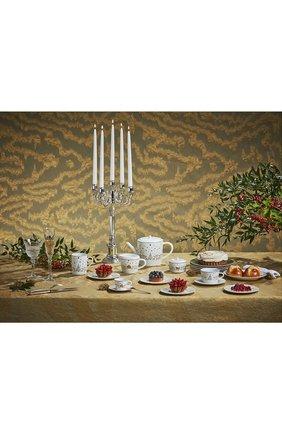 Чашка чайная с блюдцем Noel Blanc | Фото №2