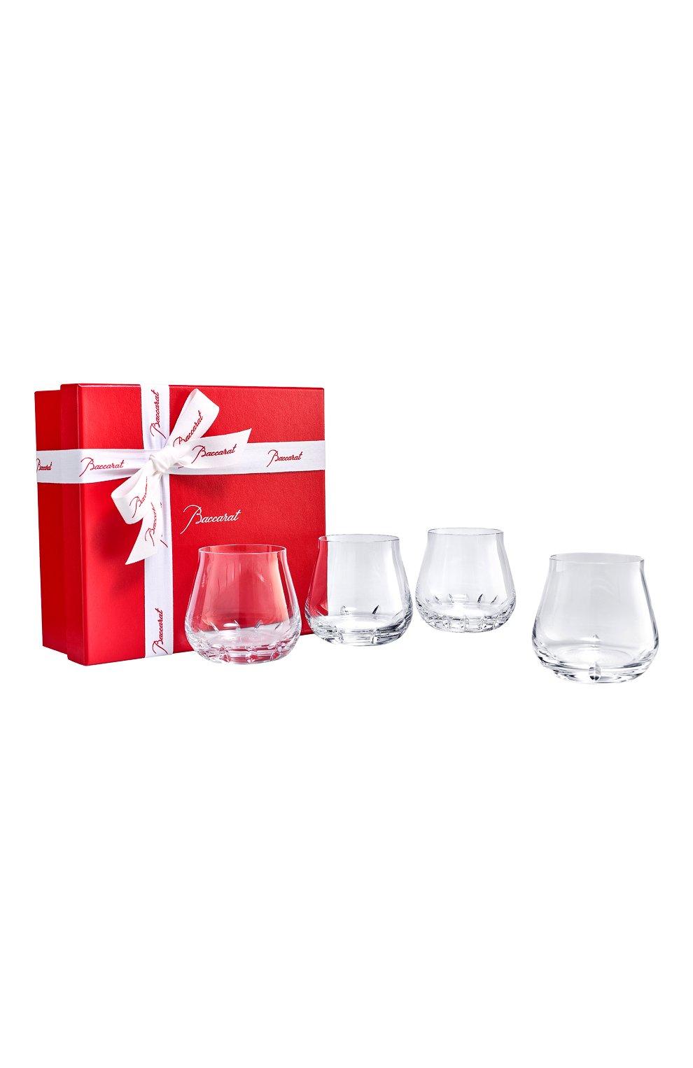 Набор из 4-х стаканов для виски faunacrystopolis BACCARAT прозрачного цвета, арт. 2 814 273   Фото 1